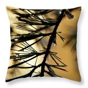 Dewdrop Throw Pillow