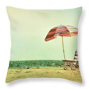 Dewey Beach Time Throw Pillow