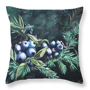 Dewey Blyes Throw Pillow