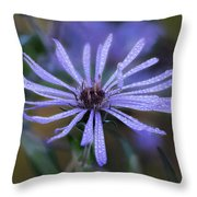 Dewey Petals Throw Pillow