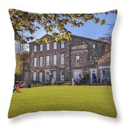 Dewsbury Museum Throw Pillow