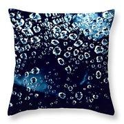 Dewy Diamonds  Throw Pillow