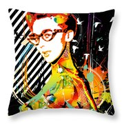 Dexterous Dame Throw Pillow