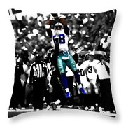 Dez Bryant Throw Pillow