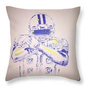 Dez Bryant Throw Pillow