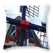 Dezwaan Windmill Holland Michigan Throw Pillow