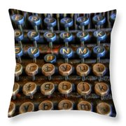 Dfghjk Throw Pillow