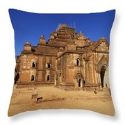 Dhammayangyi Temple Throw Pillow