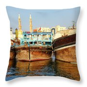 Dhow Throw Pillow