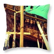 Dhower Throw Pillow