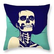 Dia De Las Muertas Throw Pillow