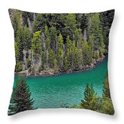 Diabolo Lake North Cascades Np Wa Throw Pillow