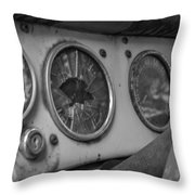 Dialed In Throw Pillow