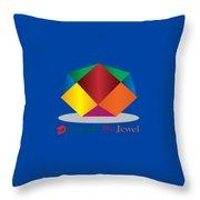 Diamond Art Throw Pillow