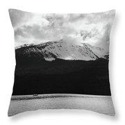 Diamond Lake  Throw Pillow
