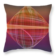 Diamond Ripple Throw Pillow