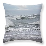 Diamond Shoals - Outer Banks Nc Throw Pillow