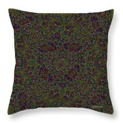 Diamond Tile Insanity Throw Pillow