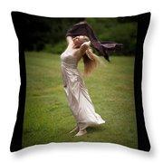 Diana, Goddess Of The Hunt #2 Throw Pillow
