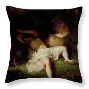 Diana Resting Throw Pillow
