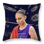 Diana Taurasi Lgbt Pride 4 Throw Pillow