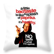 Diana Vreeland On Taste Throw Pillow