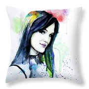 Dianne Van Giersbergen. Throw Pillow