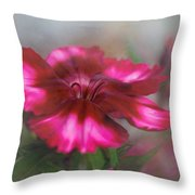 Dianthus Flower I Throw Pillow