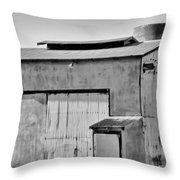 Diary Farm Throw Pillow