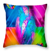 Dice  Game - Wellness 2 Throw Pillow
