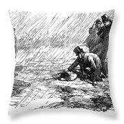 Dickens: Our Mutual Friend Throw Pillow