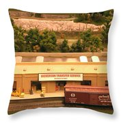 Dickerson Transfer Service Throw Pillow