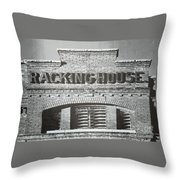 Dick's Brewery-historical Architecture  Throw Pillow