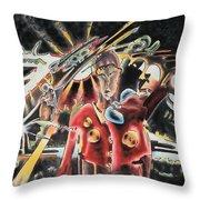 The Dictator Throw Pillow