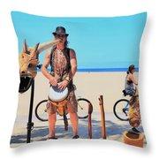 Didgeridoo Throw Pillow
