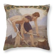 Die Arbeit - The Work Throw Pillow