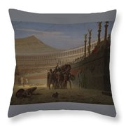 Die Salute You Throw Pillow