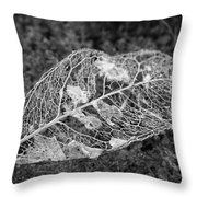 Die Slowly Throw Pillow