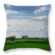 Diepenveen Countryside Throw Pillow