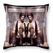 Diesel For Life Throw Pillow