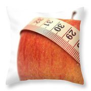 Diet Concep Throw Pillow
