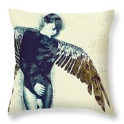 Diety Throw Pillow