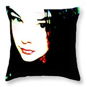 Different Eyes Throw Pillow