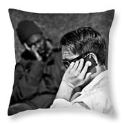 Different Lives Throw Pillow