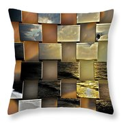 Different Shores  Throw Pillow