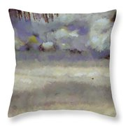Different Types Of Clouds Throw Pillow