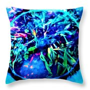 Different View Of Topgraphy Throw Pillow