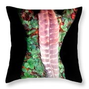 Digi Throw Pillow by Arla Patch