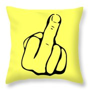 Digit Throw Pillow