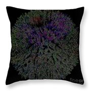Digital Abstract Graphic Design A662016 Throw Pillow